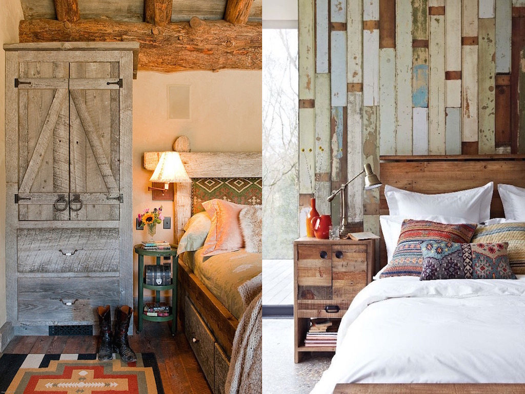 23 Cool Rustic Bedroom Design Ideas