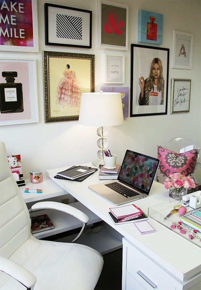 Beautiful Home Office Space