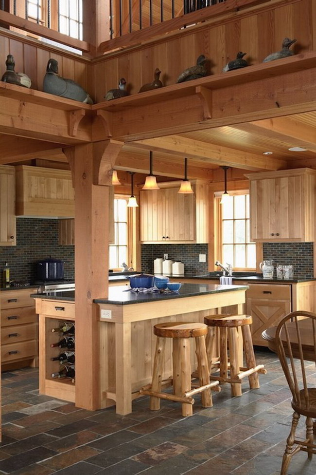 20 beautiful rustic kitchen designs interior god for Rustic modern kitchen ideas