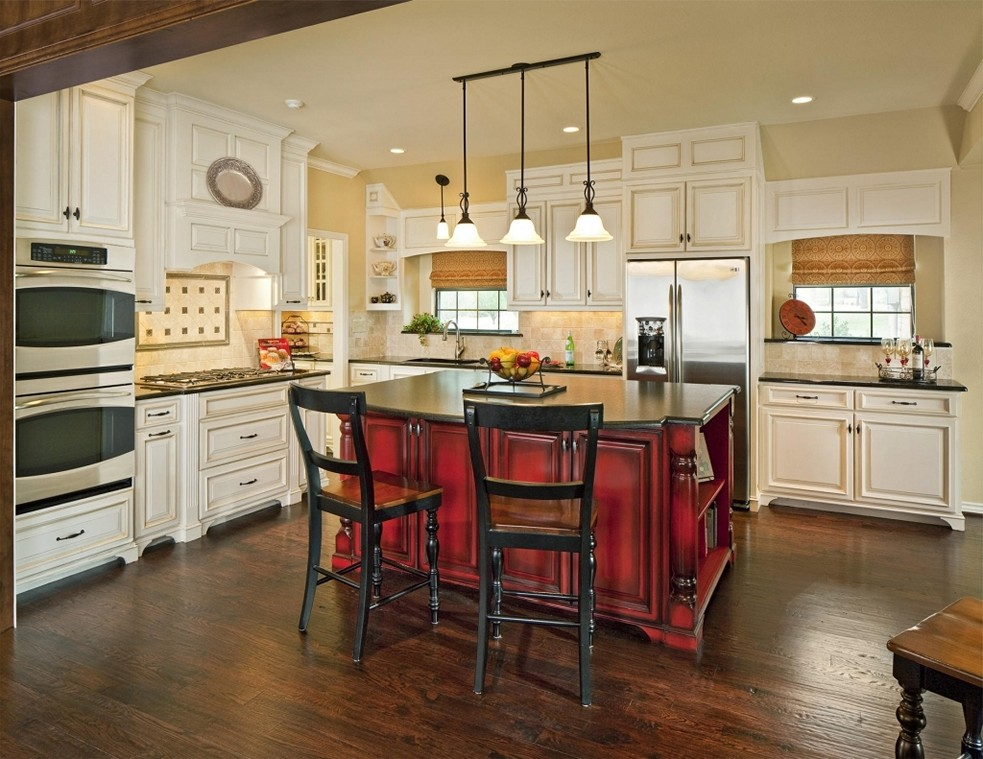 20 Pictures Of Kitchen Island Designs With Seating ...
