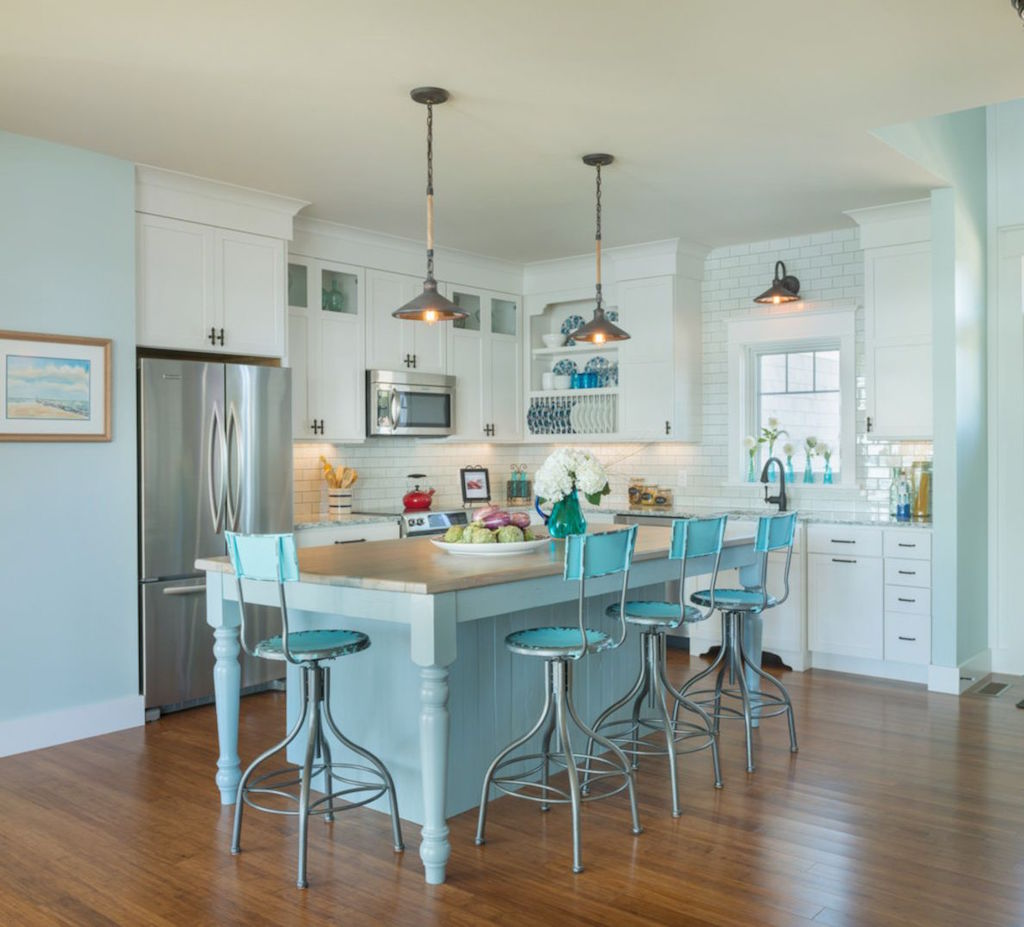 20 amazing beach inspired kitchen designs interior god for Beach inspired kitchen designs