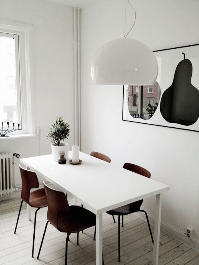 refreshing scandinavian dining room designs 5