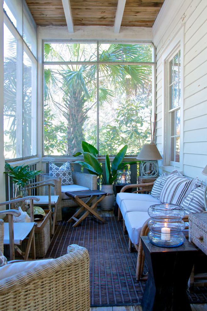 20 awesome beach style outdoor design ideas interior god for Beach porch ideas