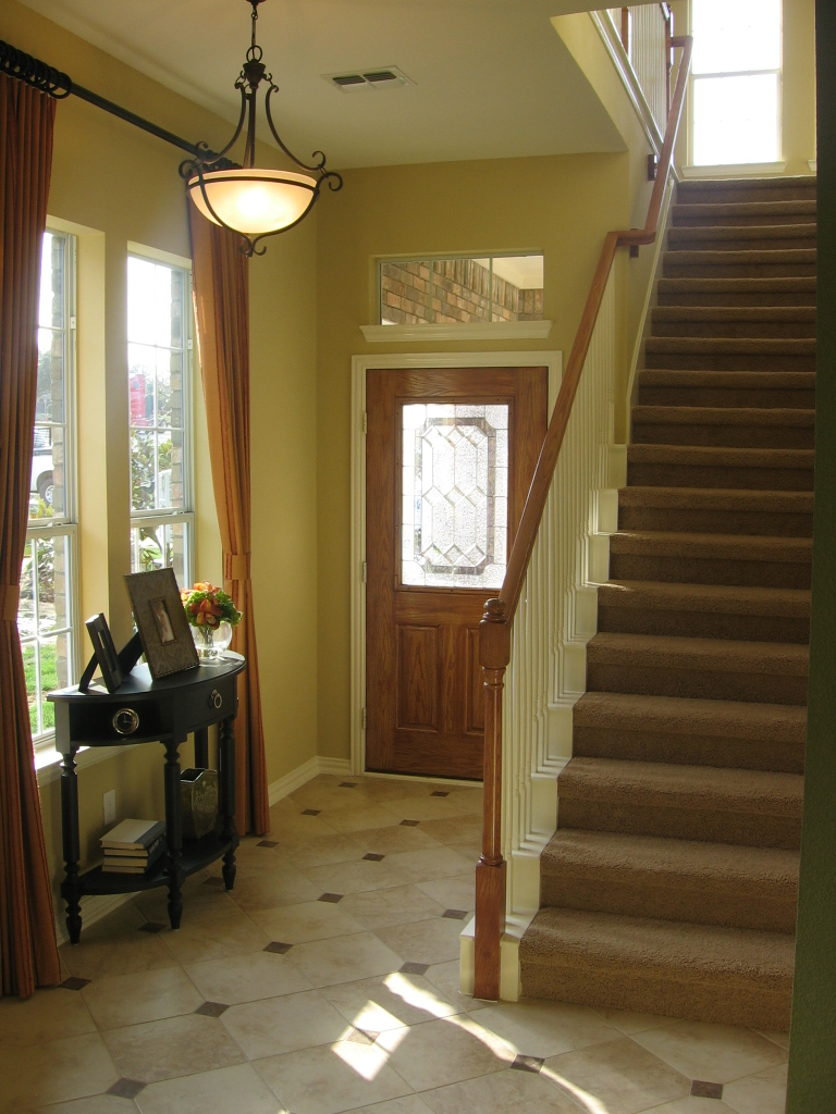 Contemporary Small Entryway