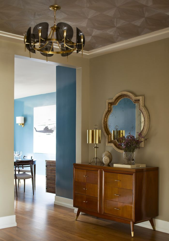 Eclectic Entryway and Hallway by Mendelson