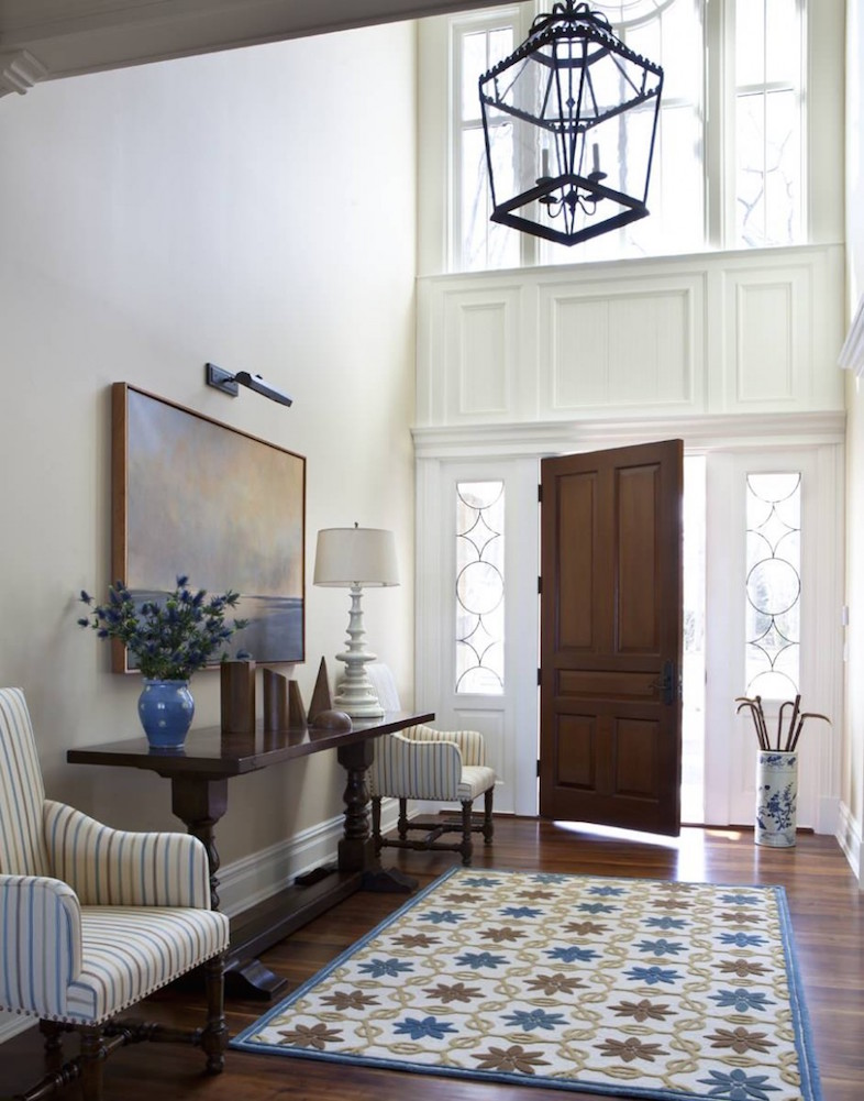 23 contemporary entryway design ideas interior god for Foyer traditional decorating ideas