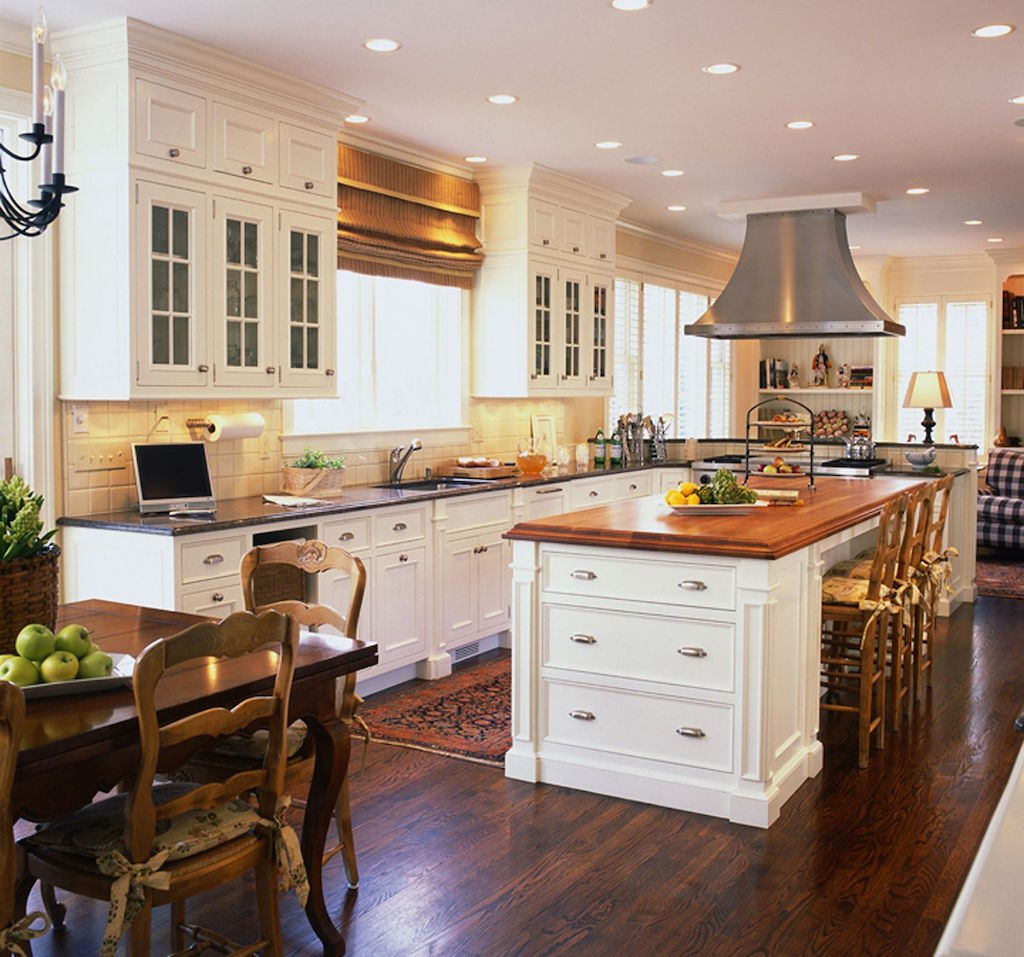 Traditional Kitchen Designs At Low Kitchen Island