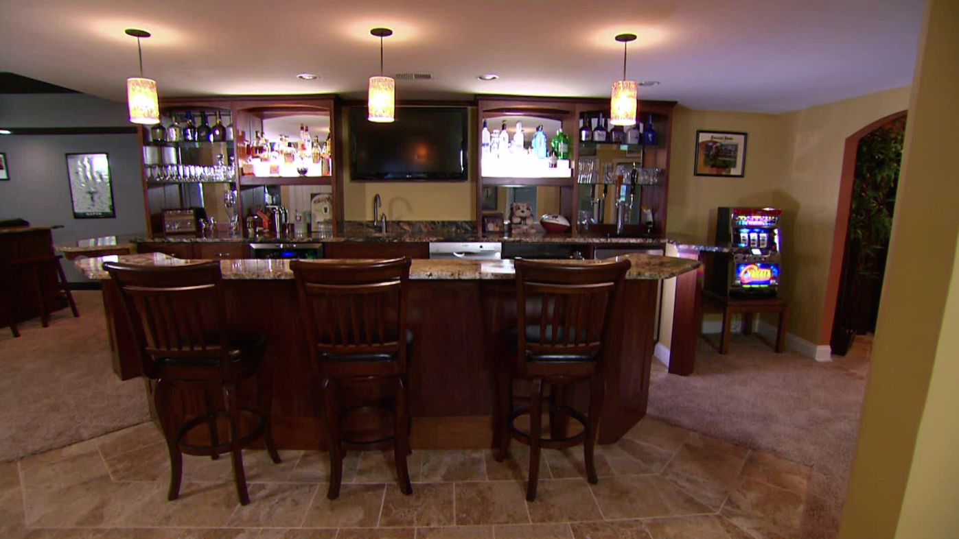 20 inspiring traditional home bar design ideas interior god - Family room bar designs ...