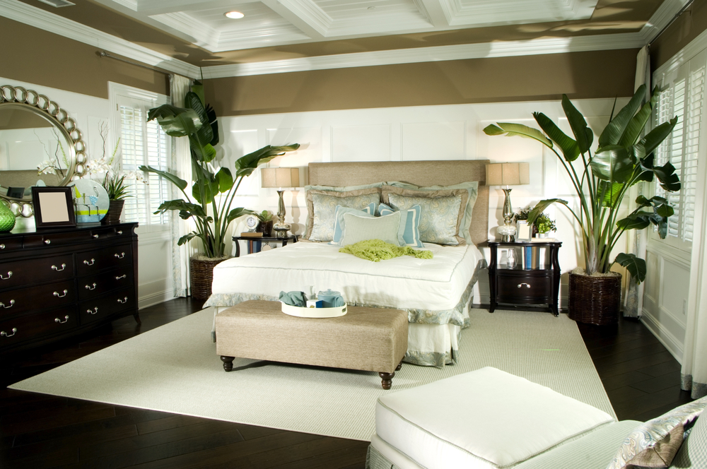 Tropical Bedrooms