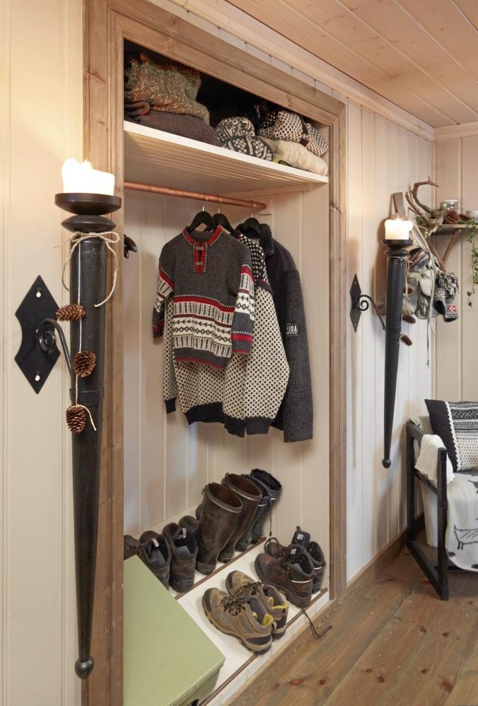 bright hallway storage ideas