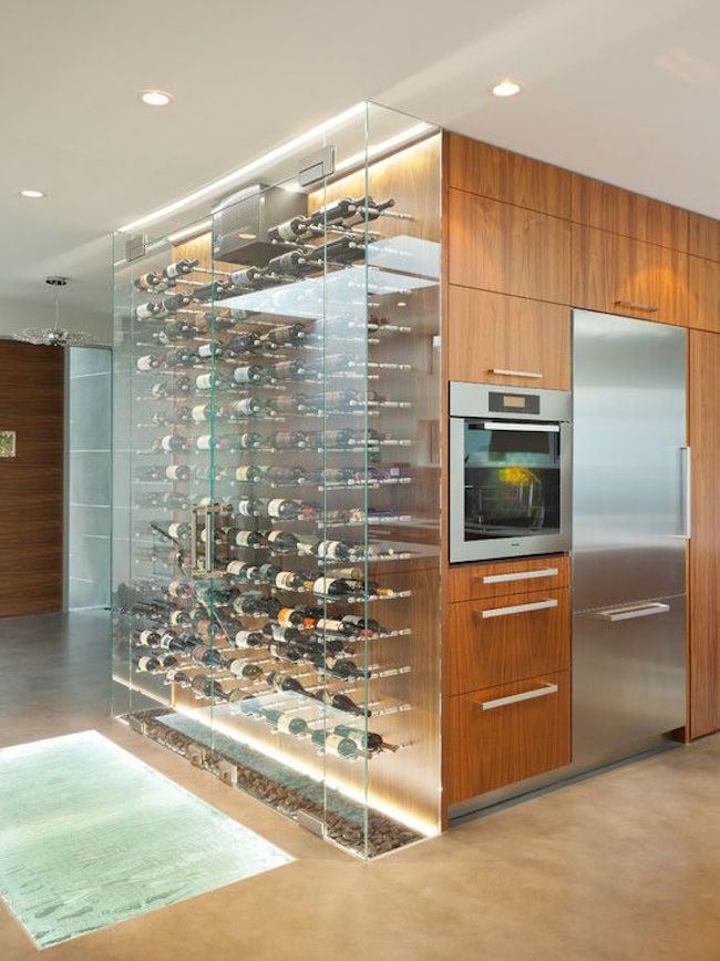 home wine storage ideas