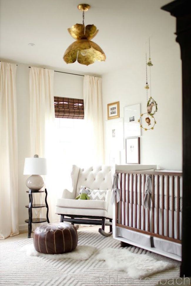 practical and beautiful tiny nursery room
