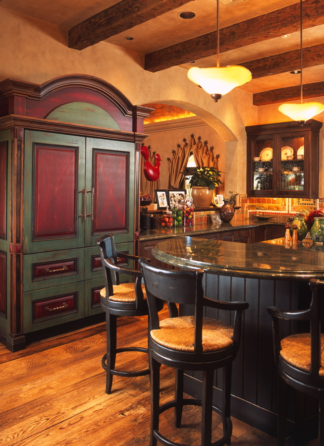 southwestern kitchen design