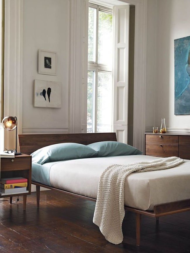 stylish mid century modern bedrooms