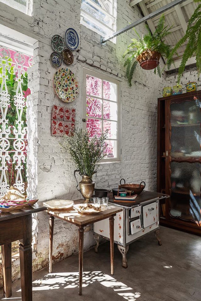 41 Colorful Boho Chic Kitchen Design Ideas