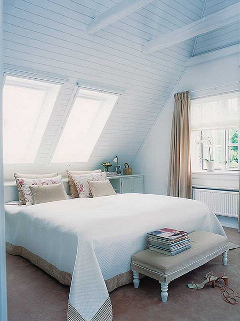 Bedroom Design Attic Idea