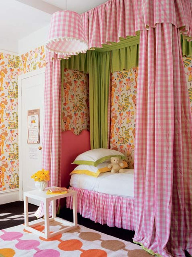 Country Club Chic Room For A Little Girl
