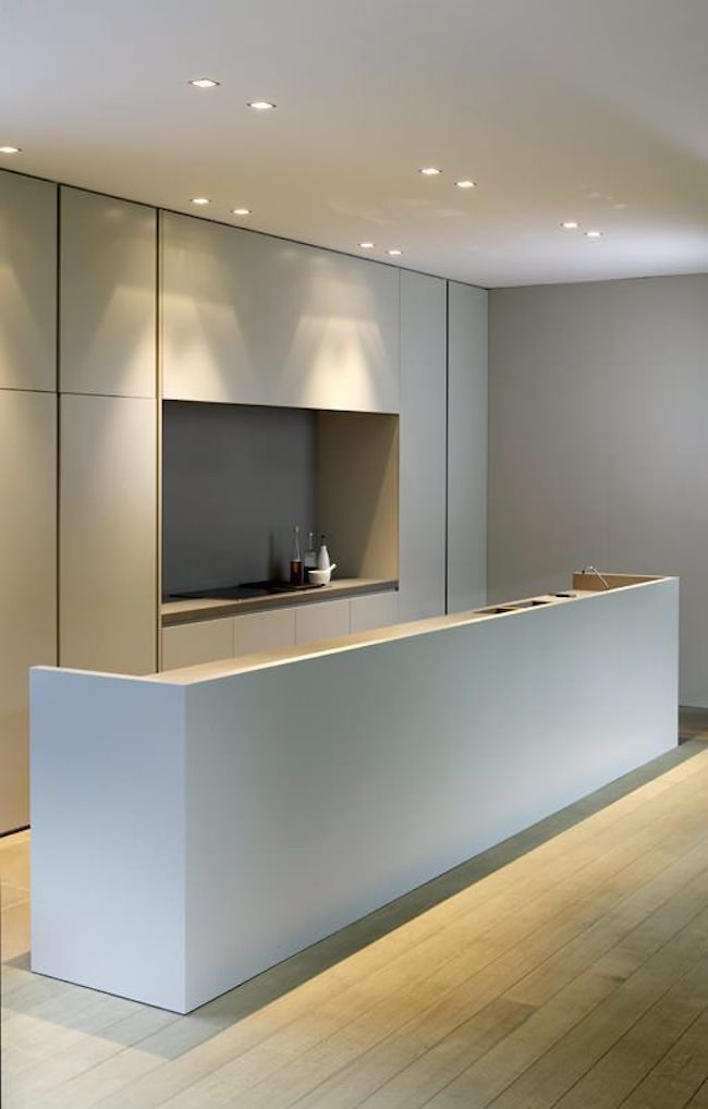 amazing functional minimalist kitchen
