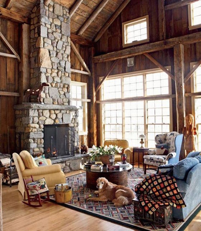 barn country living rooms