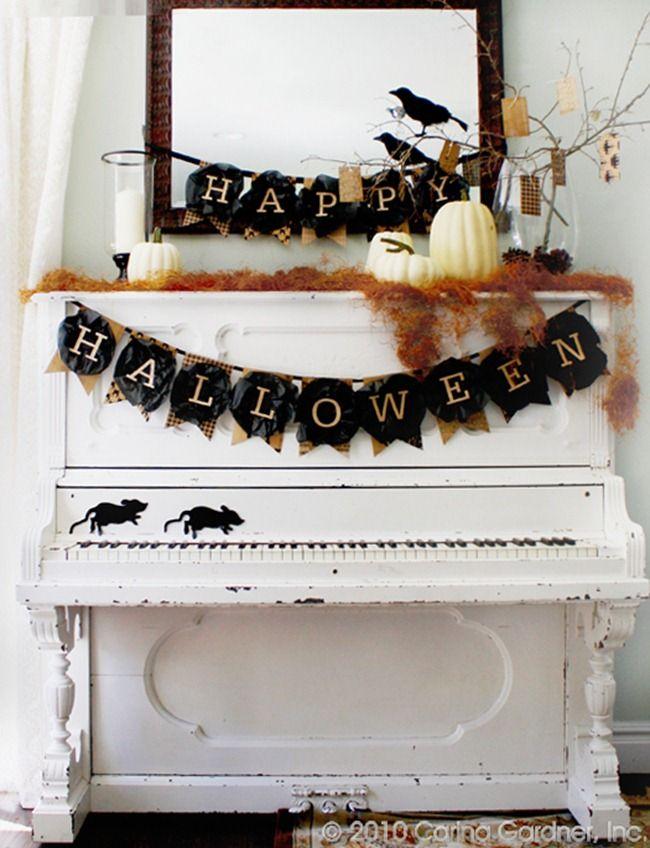 cute halloween rustic ideas