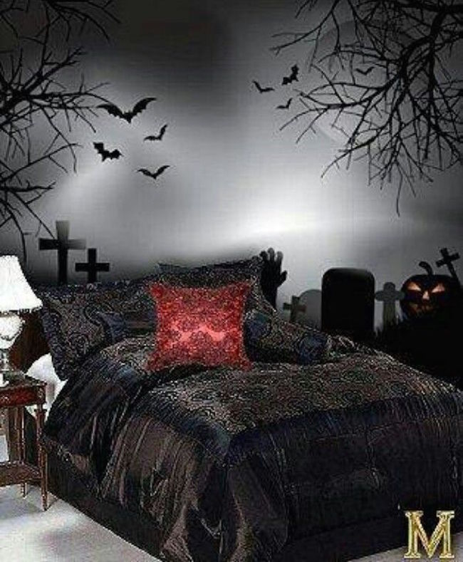gorgeous gothic bedroom design ideas