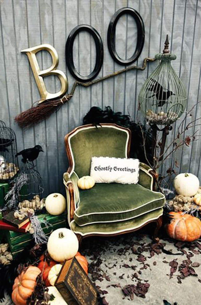 halloween photo booth backdrop ideas