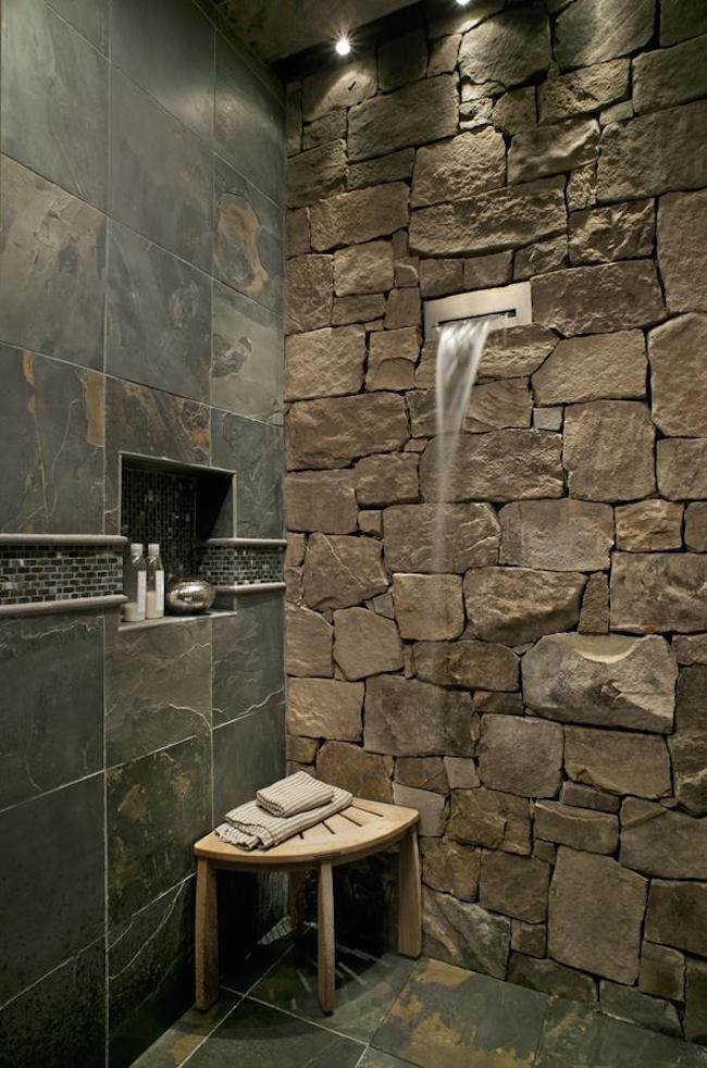 modern bathroom design stone bathroom ideas