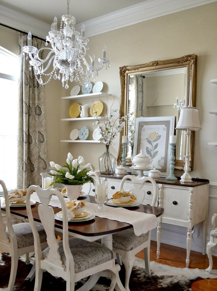 31 Vintage Dining Room Designs That You'll Love | Interior God on Room Decoration  id=65996