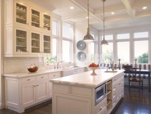 33 Refreshing White Kitchen Design Ideas