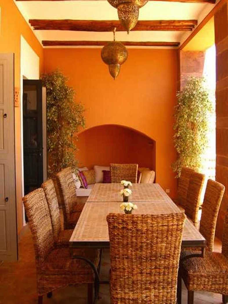 Moroccan Dining Room Theme