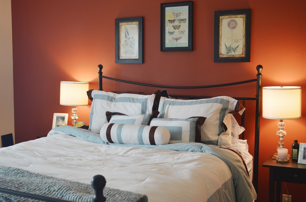 25 Sleek Orange Accents Bedroom Ideas Interior God