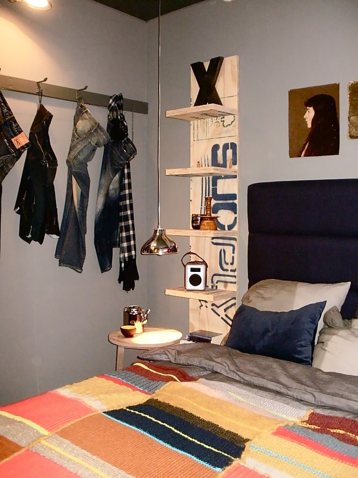 Stylish Teen Room Design For Boys