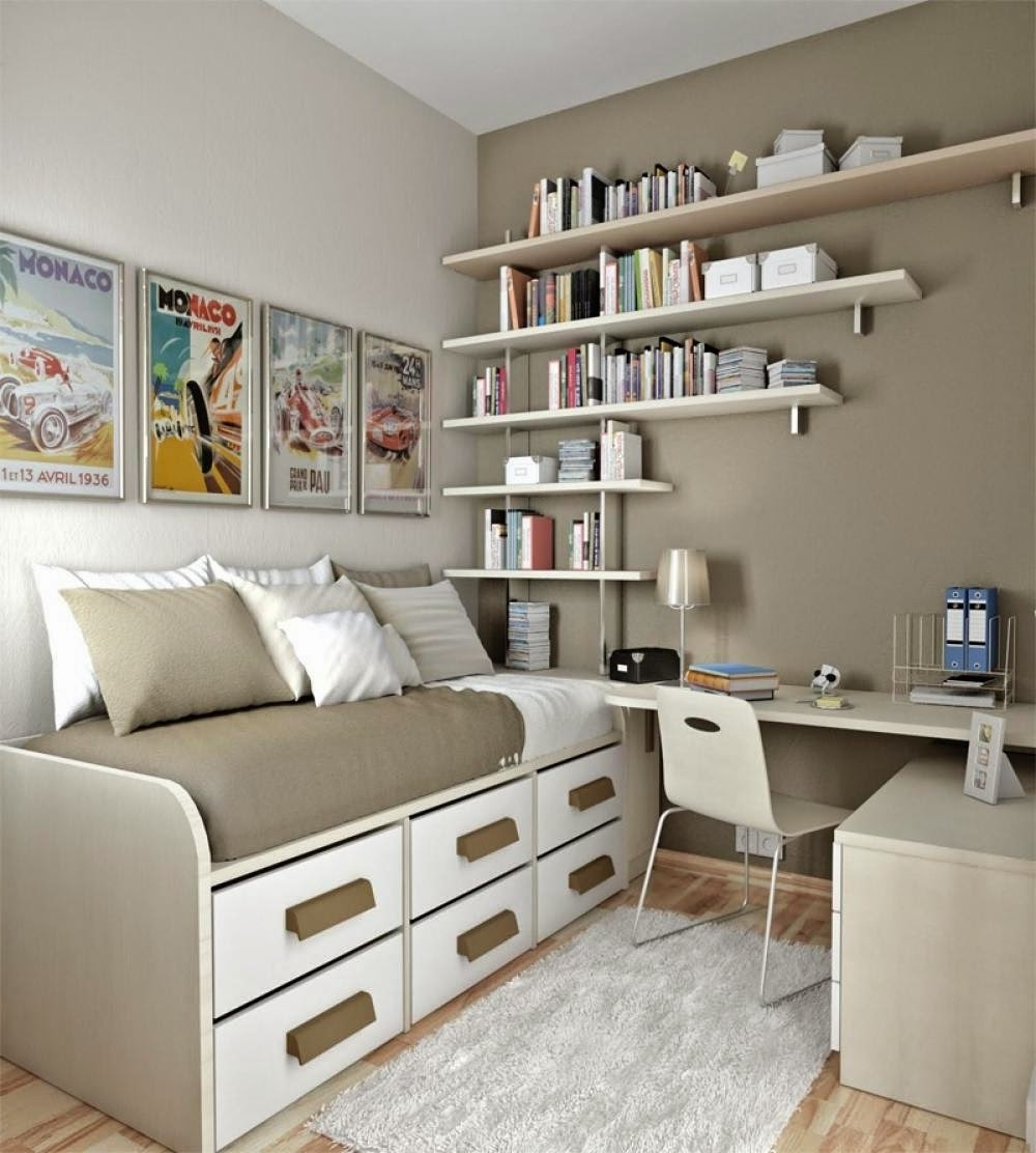 Small Bedroom Big Heart And Lots Of Storage: 40 Amazing Teenage Bedroom Layouts