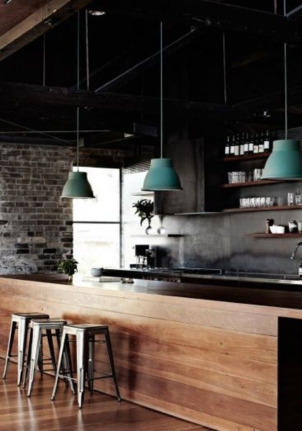 chalet industrial interior design