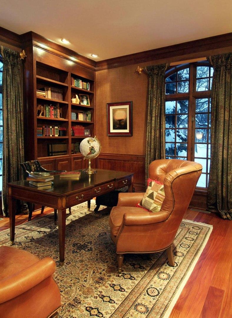 23 Elegant Masculine Home Office Design Ideas | Interior God