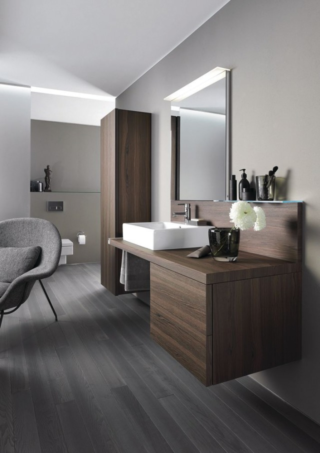 duravit delos wooden bathroom