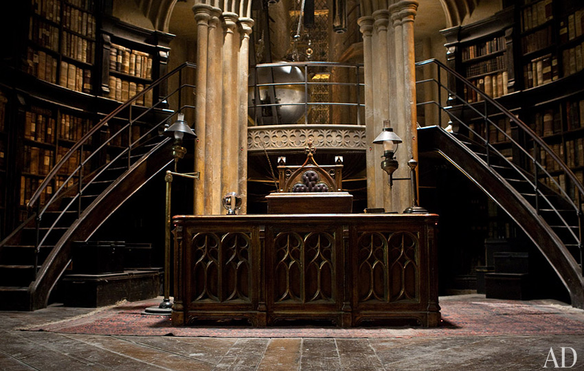 harry potter dumbledore's office