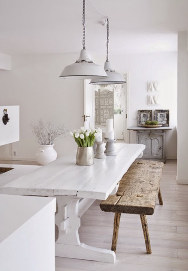 rustic scandinavian kitchen design