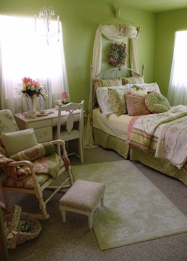 spring bed ideas