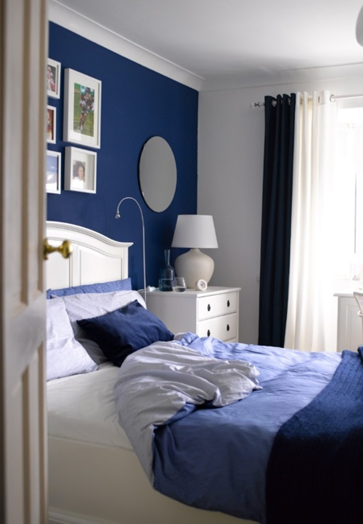 23 Classy Blue And Turquoise Accents Bedroom Designs  Interior God