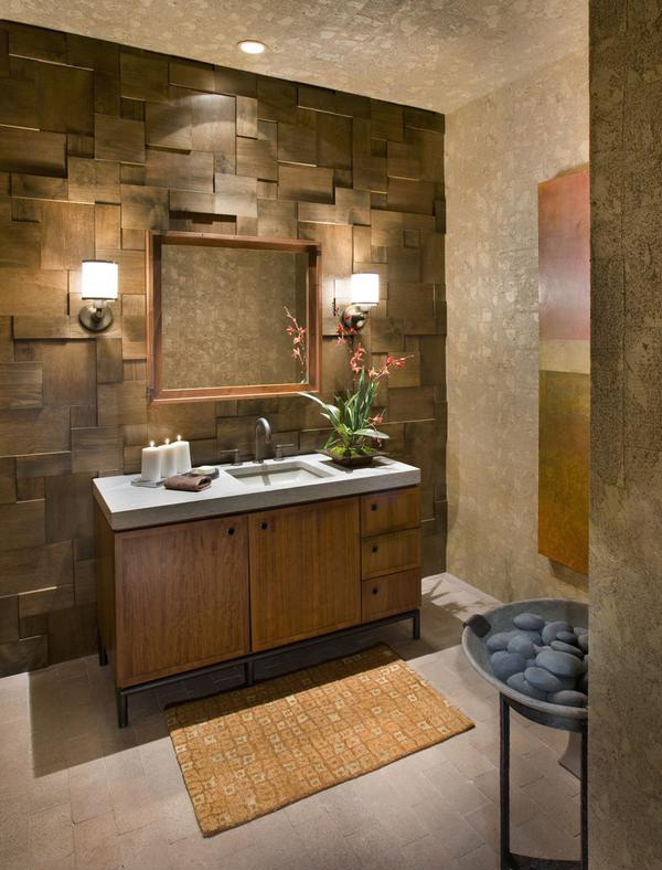 wooden wall treatment