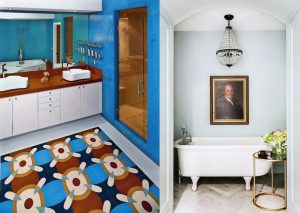 23 Bright And Colorful Bathroom Designs