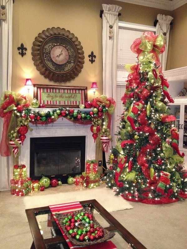 christmas mantel decorating ideas