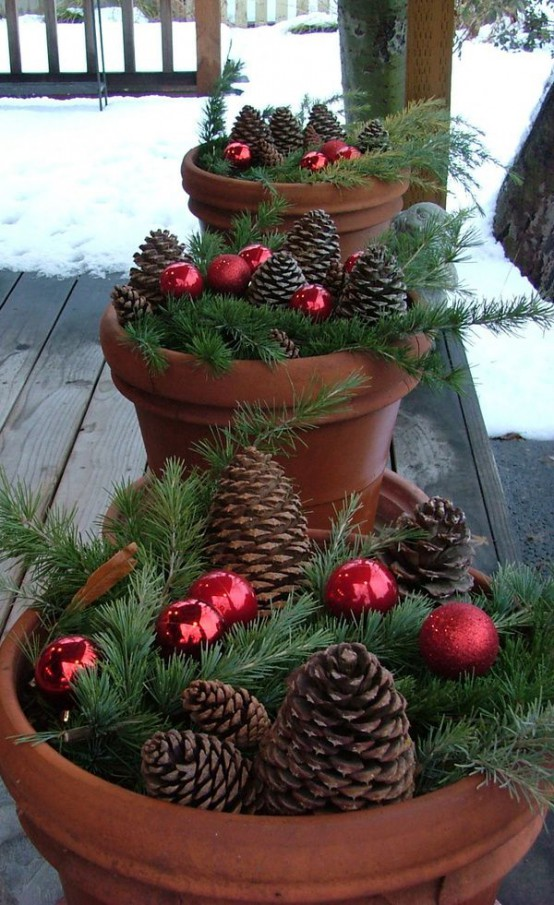 outdoor christmas decor ideas