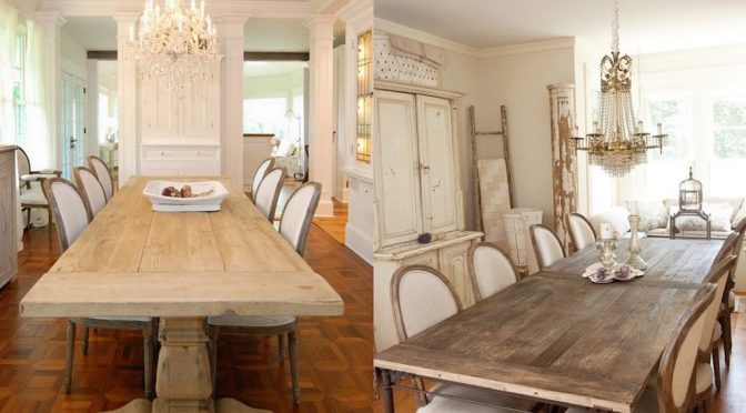 25 Stunning Provence Dining Spaces To Get Inspired