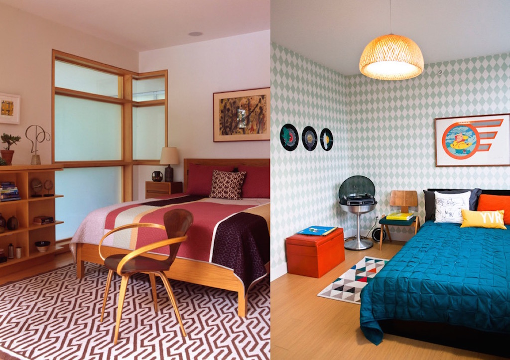 50 Awesome Bedroom Ideas: 20 Cool Retro Bedroom Design Ideas To Try
