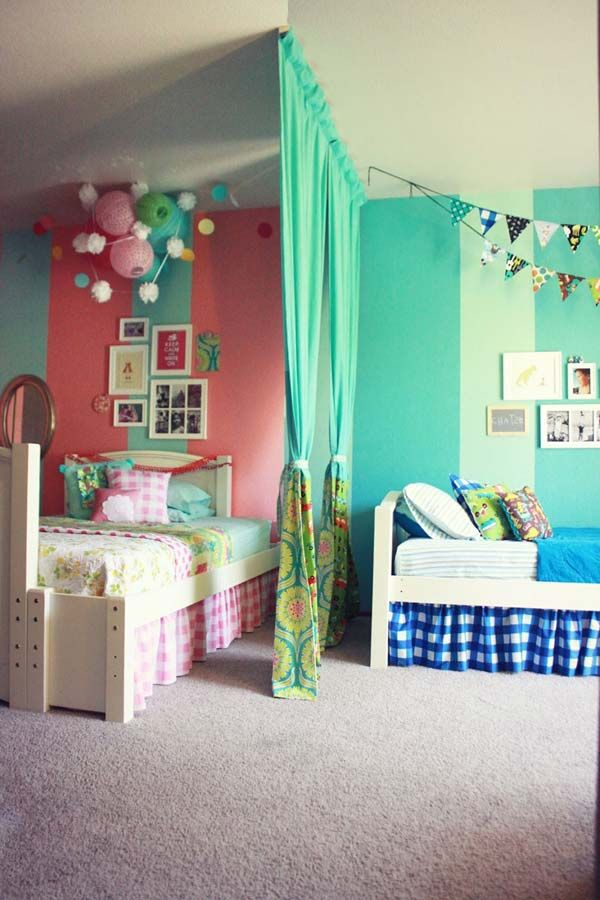 awesome shared boys room design