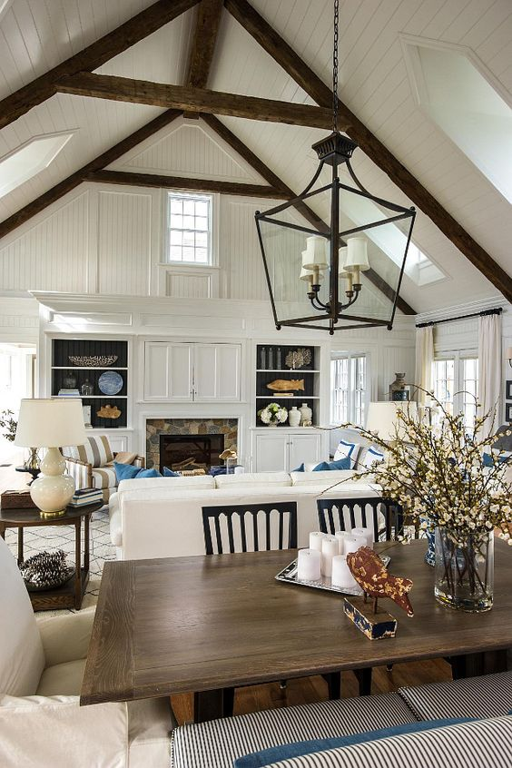 23 Living Room Designs With Vaulted Ceiling To Get ...