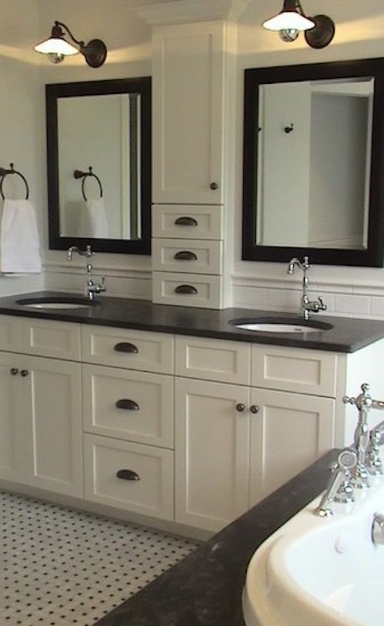 cabinet design jack and jill traditional bathroom design