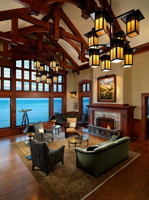craftsman living room furniture ideas